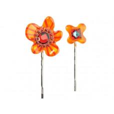 Lalo - Hårpins - Hårnåle - Orange Flower