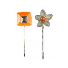 Lalo - Hårpins - Hårnåle - Gray Flower Treasures