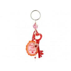 Lalo - Nøglering - Rød nøgle - Mon Amour