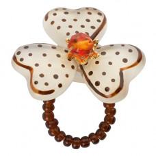 Lalo - Ring - Brown elegance
