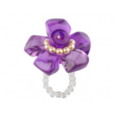 Lalo - Ring - Purpel Flower