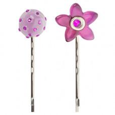 Lalo - Hårpins - Hårnåle - Purpel flower treasures