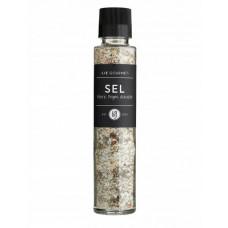 Lie Gourmet - Havsalt med 5 slags peberkorn, hvidløg, skalotteløg og timian