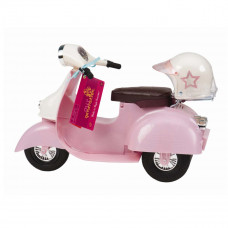 Our Generation - Dukketilbehør - Scooter lyserød