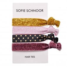 Petit By Sofie Schnoor - Hårelastikker - 4 stk - Glimmer