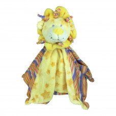 Nusseklud - Med rangle - Pastel gul løve