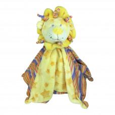MY FRIEND - Nusseklud - Med rangle - Pastel gul løve
