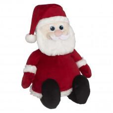 Personlig bamse - Evt. med navn, data eller tekst som ekstra tilvalgsmulighed - 41 cm - Julemand