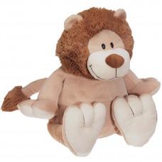 Personlig bamse - Evt. med navn, data eller tekst som ekstra tilvalgsmulighed - 41 cm - Løve
