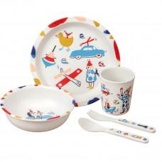 Petit Jour - Melamin spisesæt - Toys