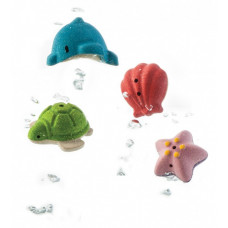 PlanToys - Badesæt med havdyr