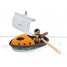 PlanToys - Piratbåd