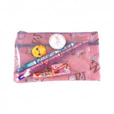Pop Cutie - Penalhus med indhold - Rosa