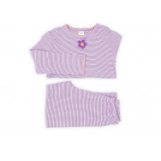 Smallstuff - Pyjamas - Lilla/orange - Str. 104