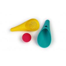 Quut - Cuppi - Sandlegetøj - Badelegetøj - skovl, sigte & bold - Pink bold