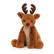 Jellycat - Julebamse - Rensdyr 36 cm - Remi Reindeer