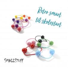Smallstuff - Hårelastik med kugler - Retro