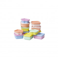 Rice - Snack boxe - Pastel farvede 12 stk