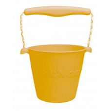 Scrunch - Sandlegetøj - Blød Foldbar Spand - Mustard
