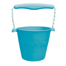 Scrunch - Sandlegetøj - Blød Foldbar Spand - Petrolium
