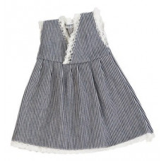 Sebra - Dukketøj - Dukkekjole - Denim kjole