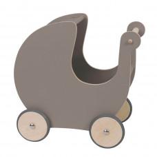 Sebra - Dukkevogn - Warm grey