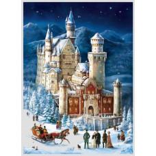 RS - Gammeldags julekalender med glimmer - Jule slottet