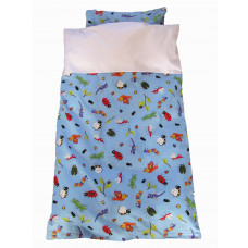Junior sengetøj - Søde og sjove dyr fra haven