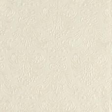 Servietter - Elegance - Creme - 33 x 33 cm - 15 stk