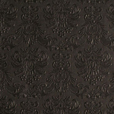 Servietter - Elegance - Sort  - 33 x 33 cm - 15 stk