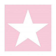 Servietter - Star lyserød - 20 stk