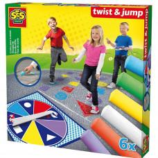 SES Creative - Twist & Jump - Udendørs Kridt spil