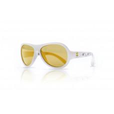 Shadez - Solbriller til børn og baby - 0-3 år - Busy bee White