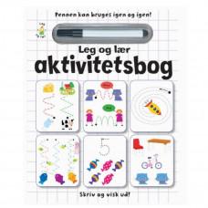 Karrusel forlag - Skriv og visk ud bog - Aktivitetsbog