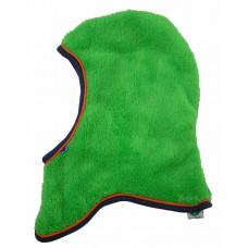Småfolk - Elefanthue 2 lags lækker fleece - Grøn