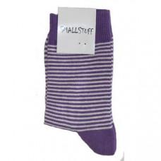 Smallstuff - Ankel sokker Mørke lilla, størrelse fra 25 - 28