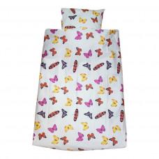 Smallstuff Baby sengetøj Sommerfugle