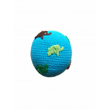 Smallstuff - Håndhæklet bold Turkis