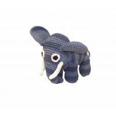 Smallstuff - Håndhæklet elefant - Denim