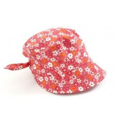 Smallstuff - Børne kasket - rød flower