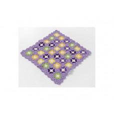 Smallstuff - Dukke tæppe - Lavendel old style