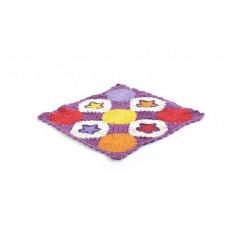 Smallstuff - Dukke tæppe - Syren stjerne