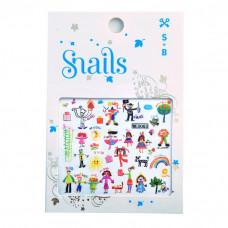 Snails - Børne Negleklistermærker - Baby Art