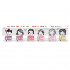Snails - Børne Neglelak - 6-pak mini - Pastel