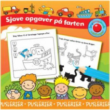 Forlaget Bolden - Snip snap snude minibøger - Opgavebog - Puslerier