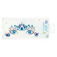 Souza - Ansigtsklistermærker - Krystaller