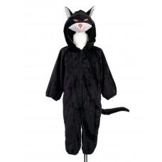 Souza - Udklædningstøj - Dyrekostume - Sort kat