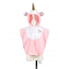 Souza - Udklædningstøj - Dyrekostume - Enhjørning kappe - Str. 2 år