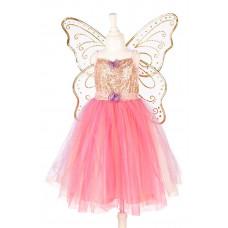 Souza - Udklædningstøj - Fe kjole med vinger - Ella-Nora