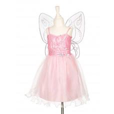 Souza - Udklædningstøj - Fe kjole med vinger - Naline